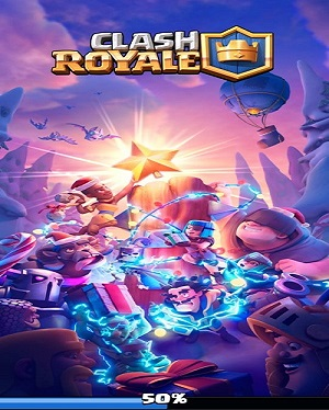 How to fix Clash Royale stuck at 50%