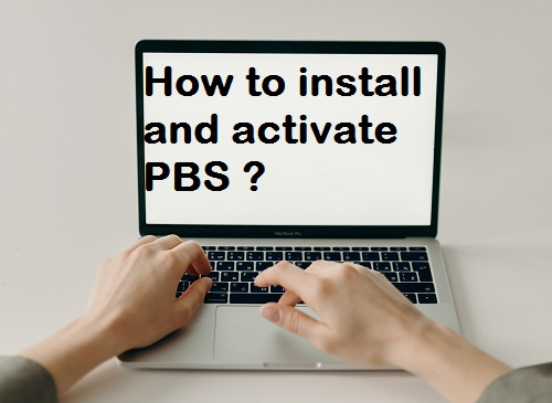 How to activate PBS