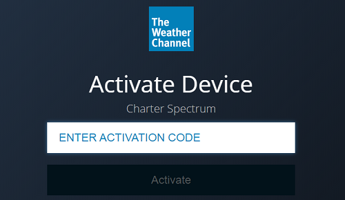 How to Activate Weather Channel app?