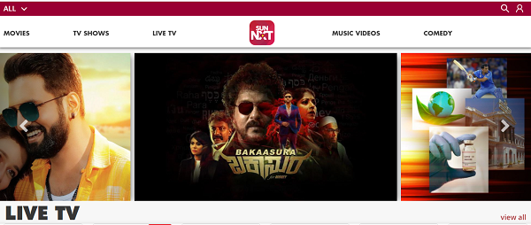 How to watch Sun NXT on TV?