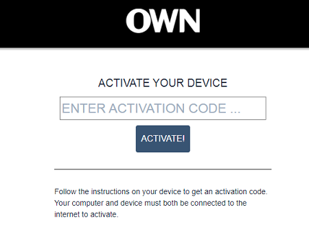 Activate Watch OWN TV on multiple devices