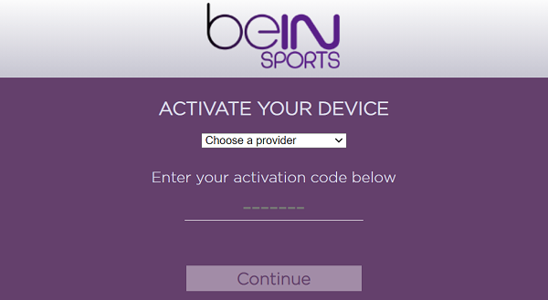 www.beinsports.com/us/activate- Activate beIN Sports Connect on multiple devices.